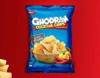 Ghodran Chips packaging design