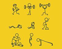Practo Fitness Poster