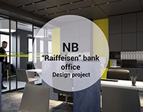 """Raiffeisen"" bank office"