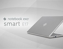 EXO Notebook Smart E17