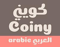 Coiny Arabic Typeface