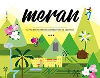 Cover illustration DIE ZEIT / Merano Magazine