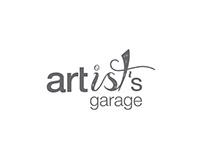 Artist's Garage, Logotype   Corporate Identity