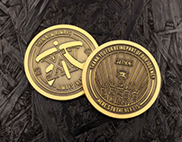 Fnatic XV Coin