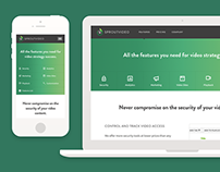 SproutVideo Responsive Features Page