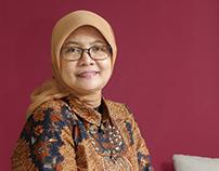 Hendri Saparini I Economist I Portrait