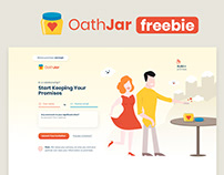 OathJar - Promise Template PSD (free download)