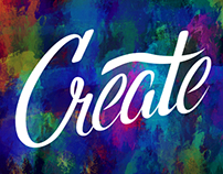 """Create"" Hand Lettering"