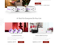 iDevices Holiday Microsite