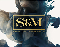 Smoke and Mirrors Parlor Branding
