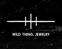 Wild Thing. Jewelry Logotype & Lookbook