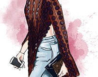 Paris Street Style | Fashion Illustration