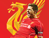 Steven Gerrard // LowPoly