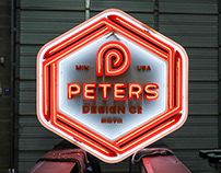 Peters Design Co Branding