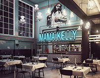 MAMA KELLY CAFE DESIGN