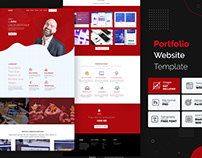 Creative portfolio website template