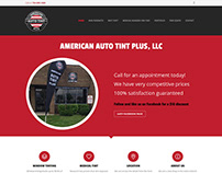American Auto Tint Website