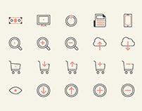 Basicons: Web Design