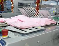 [VÍDEO] Maquinário de dobrar roupas