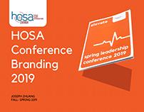 HOSA 2019 Conference Branding