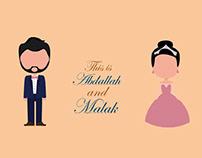 Wedding animation