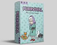Purrvival — Board Game