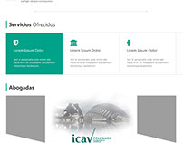Valencian Lawyer Website Preview