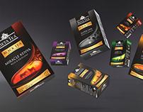 Beta Tea / Black Tea Packaging Design
