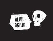 Alive Again // Logo Illustration