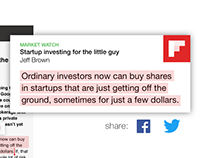 Feature Concept: Flipboard Highlights