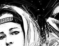 Ryfa/Pekro — Miejskie Stery /album cover design
