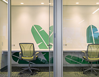 Environmental Graphic Design in Office