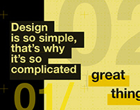 Designers quotes posters