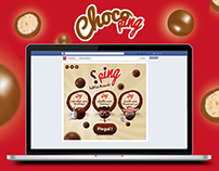"ChocoPing Application Facebook ""Ping chma3neha ?"""