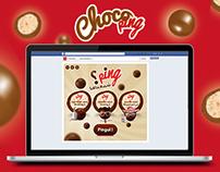 "ChocoPing Application Facebook ""Ping chma3neha ?"""