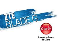 Lanzamiento Smartphones ZTE Blade G Co-branding Claro