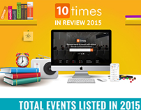 infographics for an event company