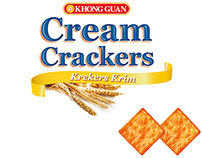 Khong Guan Cream Crackers  |  Packaging development