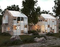 Secluded Getaway designed by Scoria / Inon Ben David