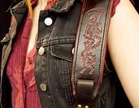 Red Death Guitar strap