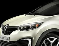 Renault Captur CGI