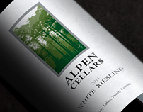 Alpen Cellars wine label