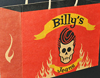 Bags and Tags project: Billy's Jeans