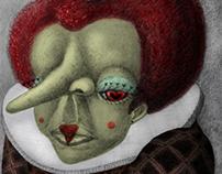 Queen of Hearts (Alice in Wonderland) Character Design