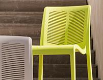 Contemporary outdoor chair - 2012 - Grosfillex