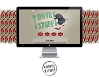 Dove Stuff - blog design
