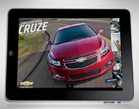 Chevrolet Cruze: iPad