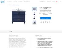 OVE Corporate Website (UI/UX Design & Art direction)