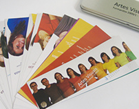 Convite Artes Visuais - UNESC