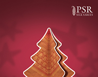 Creative Greeings_PSR Silk Sarees_for Christmas